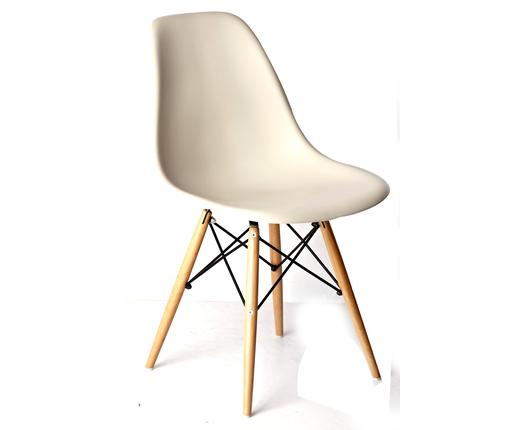 מפוארת הום סנטר | כסא אוכל - כסא אוכל דניה בז' רגלי עץ XQ-81